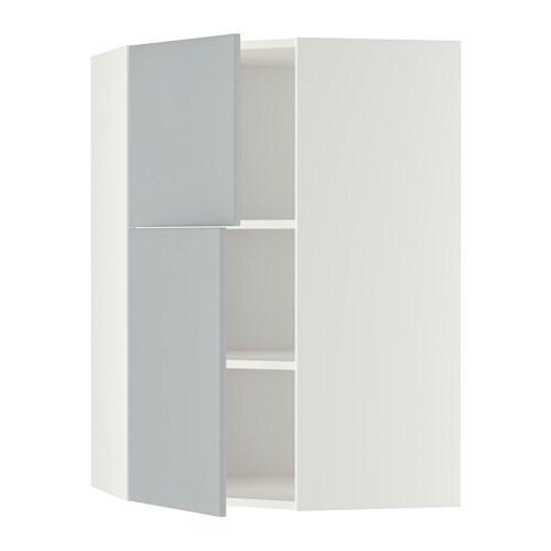 metod wandeckschrank mit b den 2 t ren wei veddinge grau ikea. Black Bedroom Furniture Sets. Home Design Ideas
