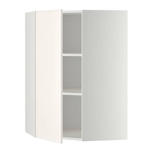 metod wandeckschrank mit b den wei veddinge wei 68x100 cm ikea. Black Bedroom Furniture Sets. Home Design Ideas
