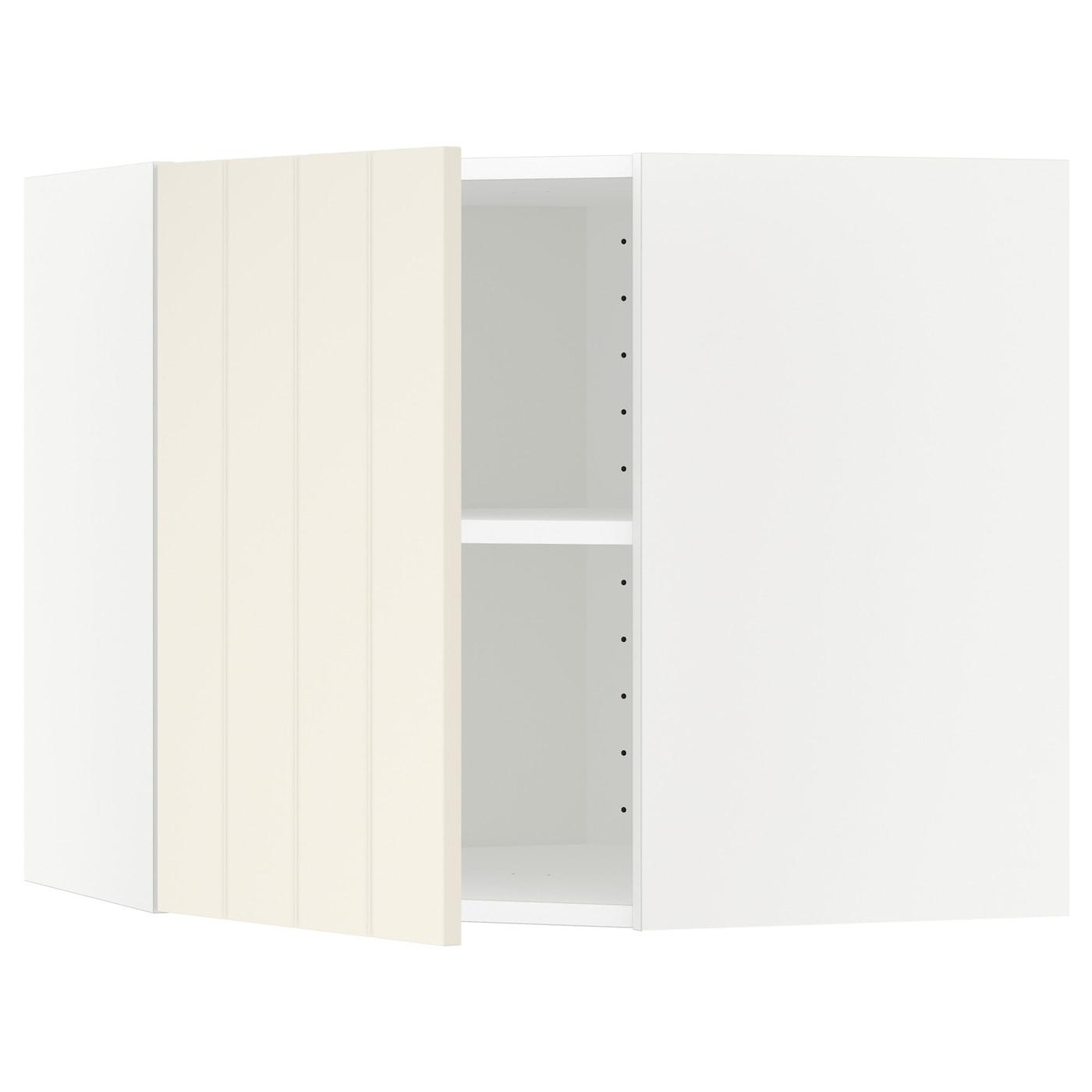METOD, Wandeckschrank mit Böden, weiß 890.541.17