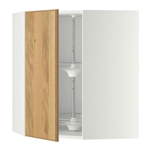 Ikea Kinderbett Gulliver Weiß ~ METOD Wandeckschrank mit Karussell Mit versetzbarem Boden; der Abstand
