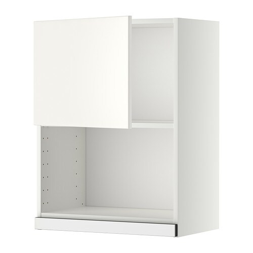 metod wandschrank f r mikrowellenherd wei veddinge wei 60x80 cm ikea. Black Bedroom Furniture Sets. Home Design Ideas
