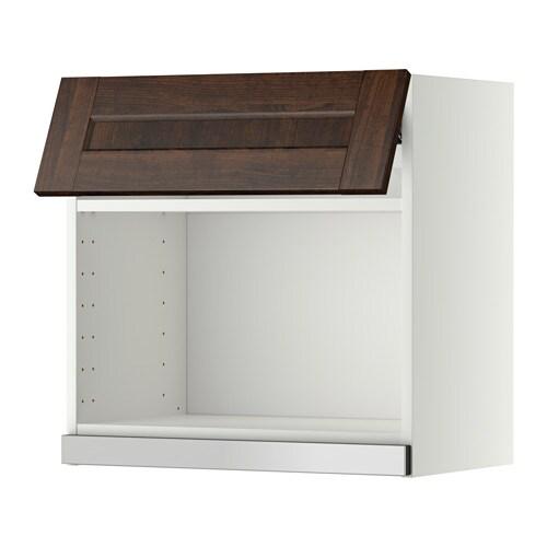 metod wandschrank f r mikrowellenherd wei edserum holzeffekt braun 60x60 cm ikea. Black Bedroom Furniture Sets. Home Design Ideas