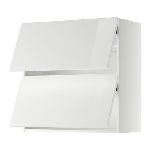 metod wandschrank horiz m 2 t ren wei ringhult hochglanz wei 80x80 cm ikea. Black Bedroom Furniture Sets. Home Design Ideas