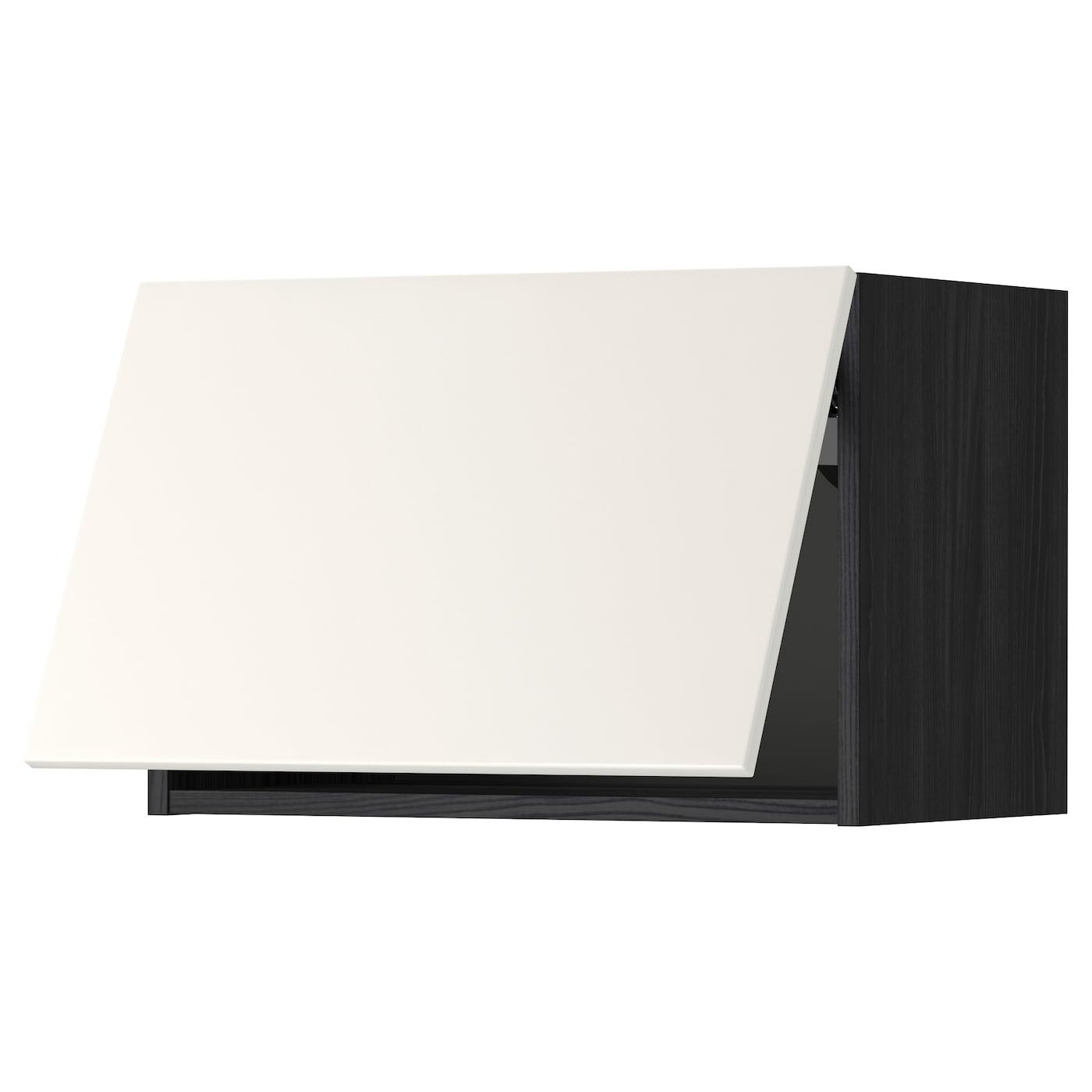 METOD, Wandschrank horizontal, schwarz 999.179.12
