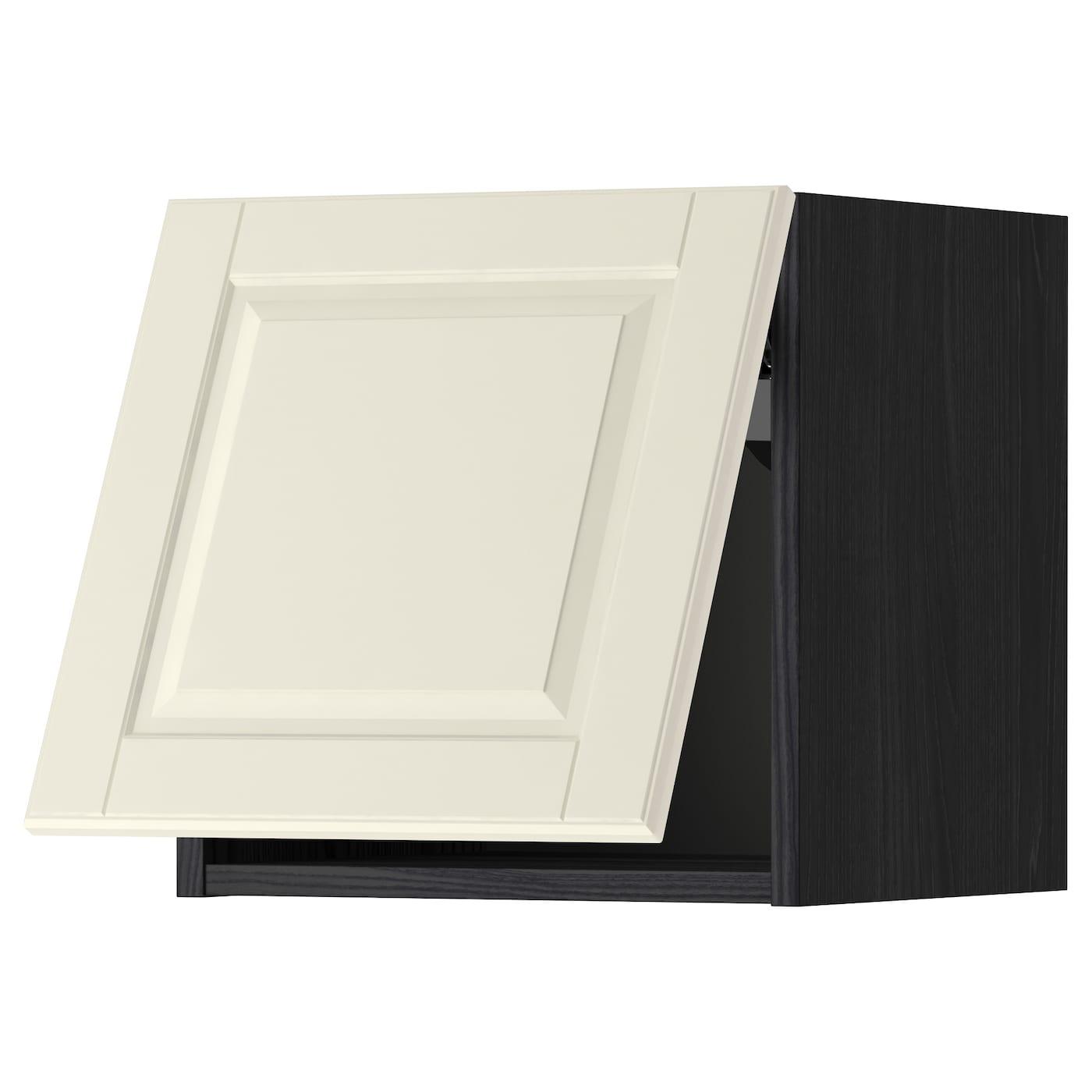 METOD, Wandschrank horizontal, schwarz 499.178.15