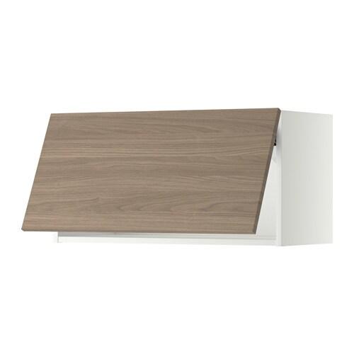 METOD Wandschrank horizontal weiß Brokhult