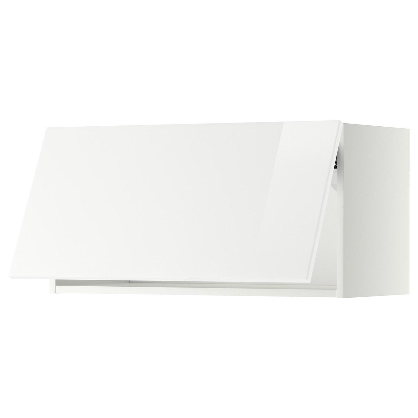 METOD, Wandschrank horizontal, weiß 499.185.13