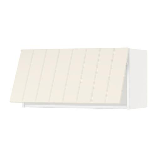 Metod wandschrank horizontal weiss hittarp elfenbeinweiss for Wandschrank horizontal