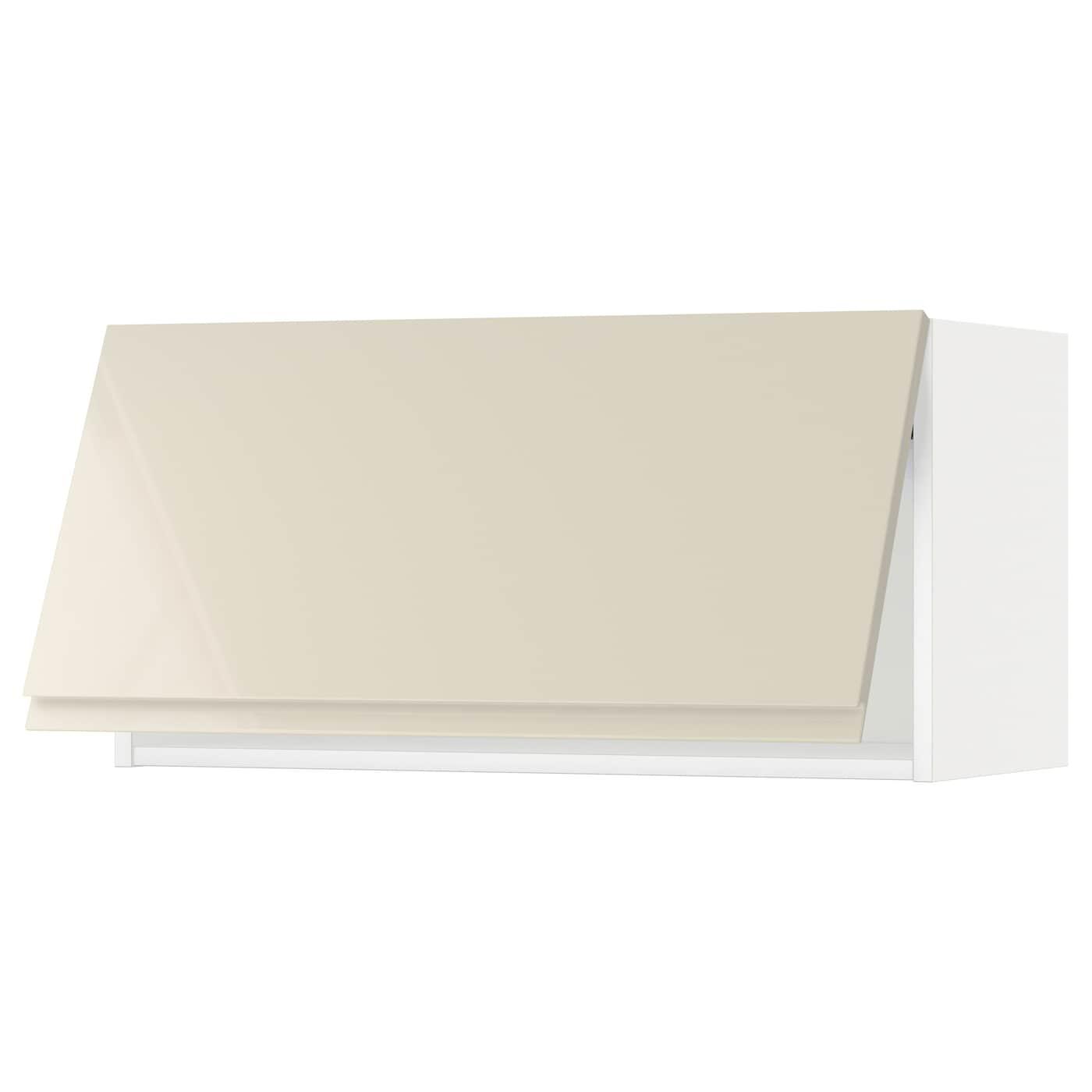 METOD, Wandschrank horizontal, weiß 991.432.36