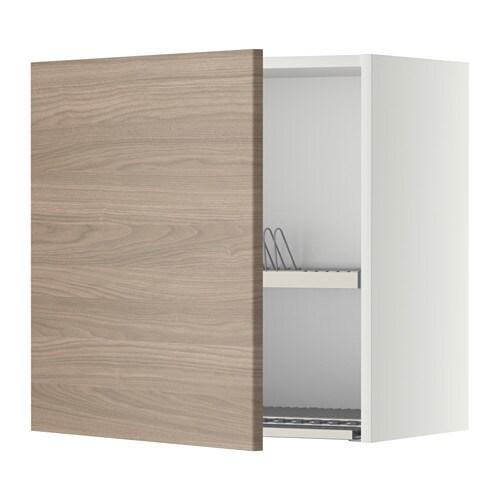 metod wandschrank mit abtropfgestell wei brokhult. Black Bedroom Furniture Sets. Home Design Ideas