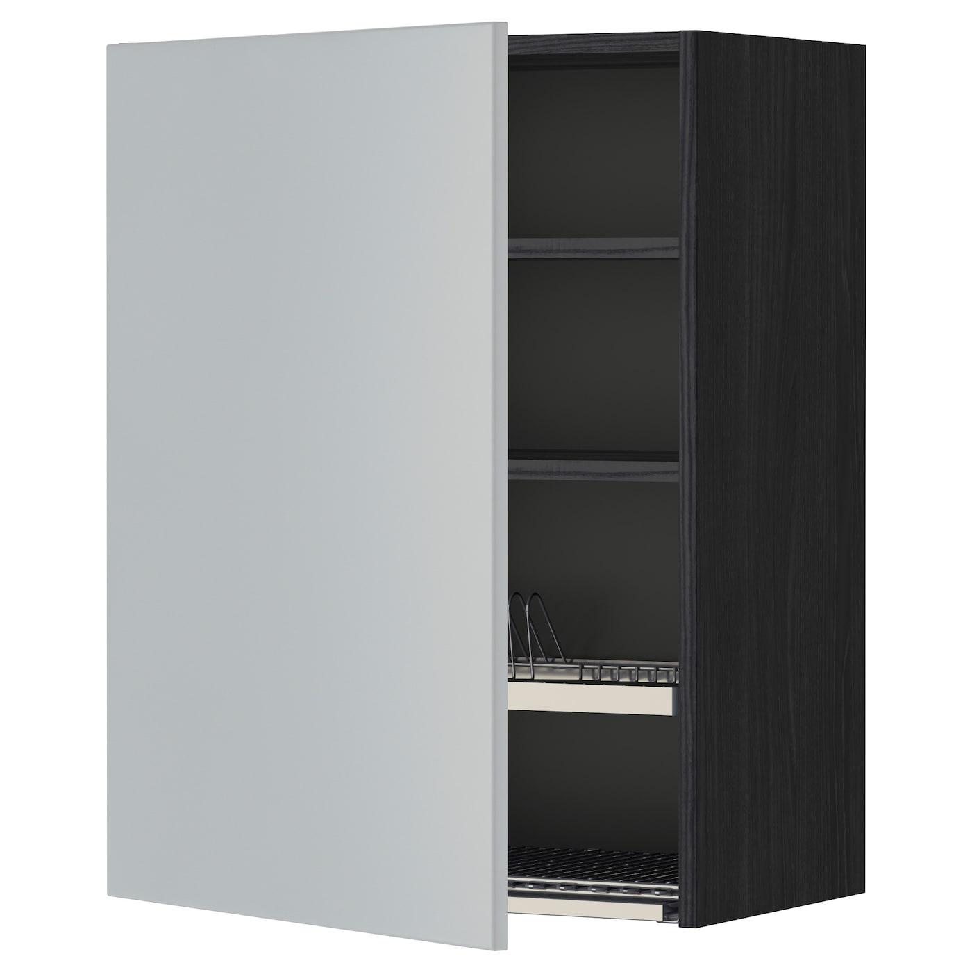 METOD | Küche und Esszimmer > Küchenschränke > Küchen-Hängeschränke | Schwarz | IKEA