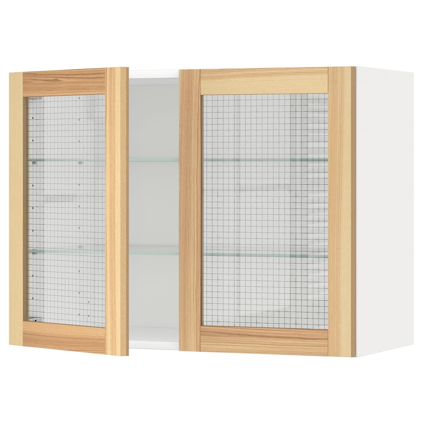 Großartig Küchenschränke Türen Mit Glaseinsätzen Zeitgenössisch ...