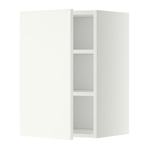 metod wandschrank mit b den wei h ggeby wei 40x60 cm ikea. Black Bedroom Furniture Sets. Home Design Ideas