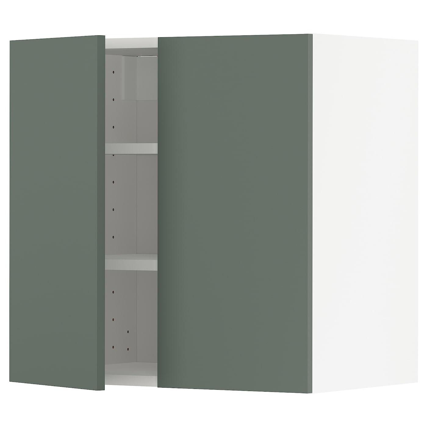 METOD Wandschrank mit Böden und 2 Türen