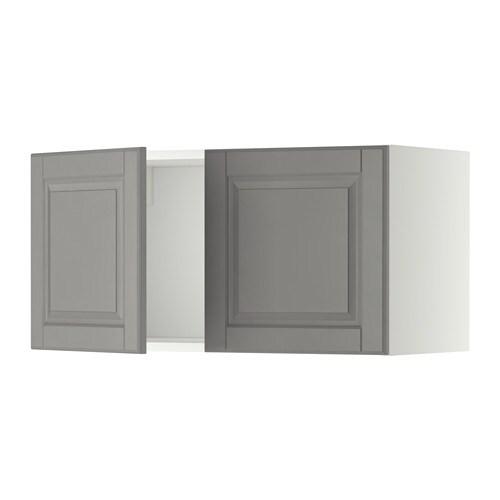 metod wandschrank mit 2 t ren wei bodbyn grau ikea. Black Bedroom Furniture Sets. Home Design Ideas