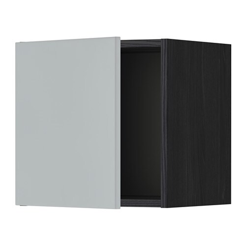 metod wandschrank holzeffekt schwarz veddinge grau 40x40 cm ikea. Black Bedroom Furniture Sets. Home Design Ideas