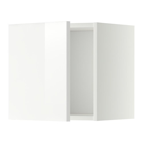 metod wandschrank wei ringhult hochglanz wei 40x40 cm ikea. Black Bedroom Furniture Sets. Home Design Ideas