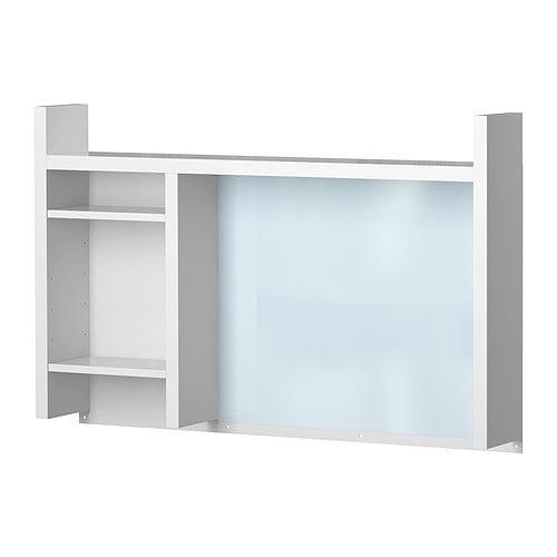 Ikea schreibtisch micke  MICKE Anbauelement, hoch - weiß - IKEA