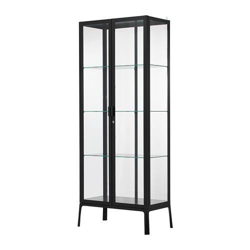 milsbo vitrine anthrazit ikea. Black Bedroom Furniture Sets. Home Design Ideas