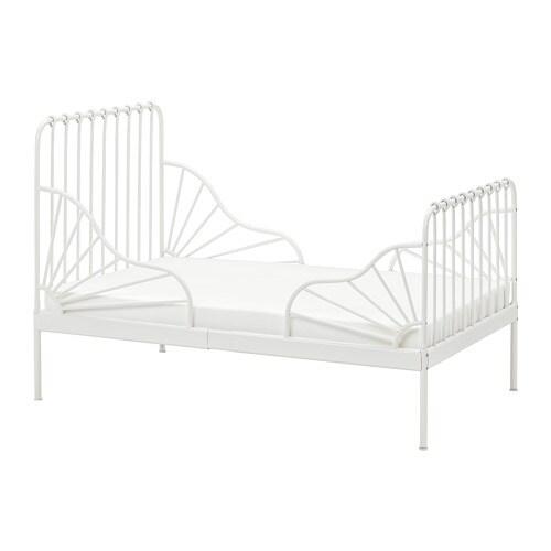 Minnen Bettgestell Ausziehbar Ikea