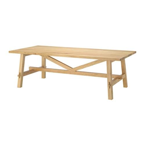 IKEA   MÖCKELBY, Tisch, Tischplatte Mit Massivholzoberfläche; Robustes  Naturmaterial, Das Bei Bedarf Abgeschliffen Und Neu Behandelt Werden Kann.