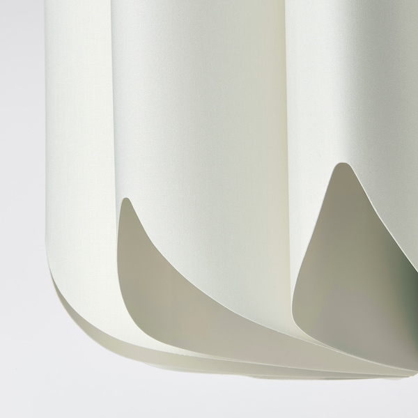 MOJNA Hängeleuchtenschirm, textil/weiß, 47 cm