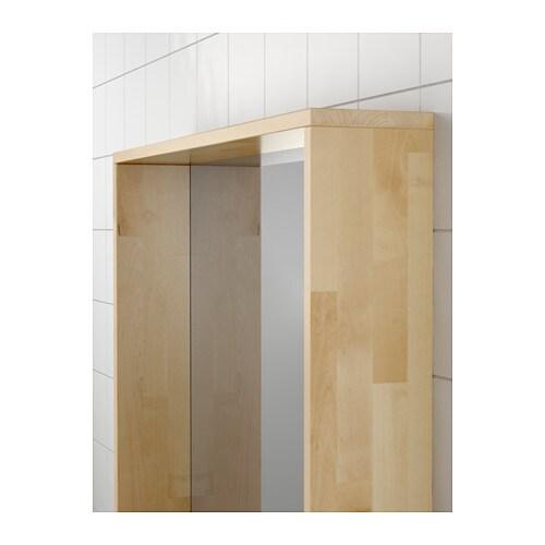 Ikea spiegelschrank molger  MOLGER Spiegel - dunkelbraun - IKEA