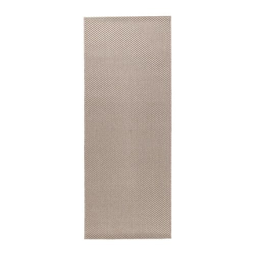 MORUM Teppich flach gewebt - beige, 80x200 cm - IKEA