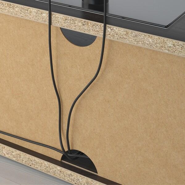 MOSJÖ TV-Bank schwarzbraun 90 cm 40 cm 38 cm 45 kg 20 kg