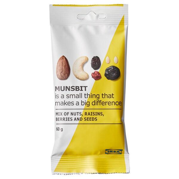 IKEA MUNSBIT Nüsse/beeren/rosinen naturell