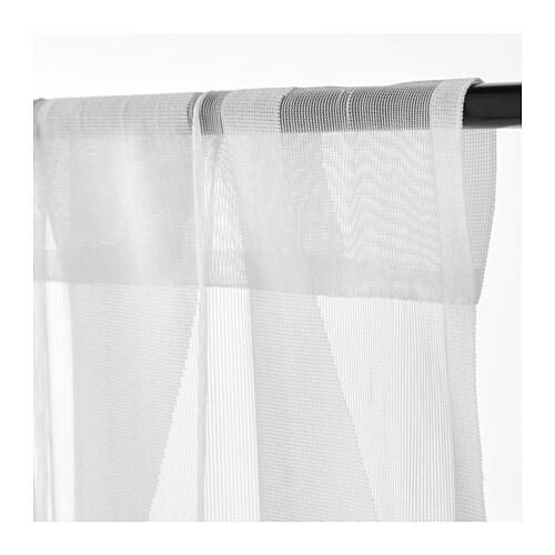 ikea murruta 2x gardinenstore paar wei je 145x300cm vorhang vorh nge gardinen ebay. Black Bedroom Furniture Sets. Home Design Ideas