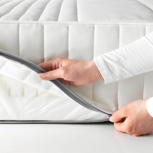 MYRBACKA Memoryschaummatratze, fest/weiß, 90x200 cm