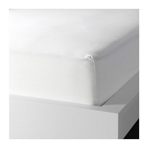 myrbr cka spannbettlaken f matratzenauflage 90x200 cm ikea. Black Bedroom Furniture Sets. Home Design Ideas