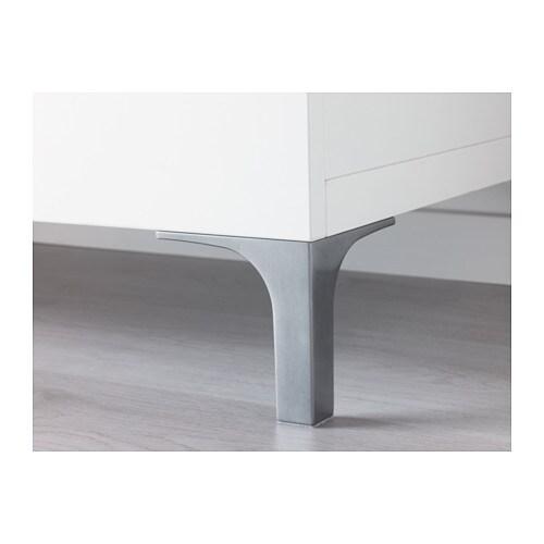 Ikea Besta Füße nannarp bein aluminium ikea