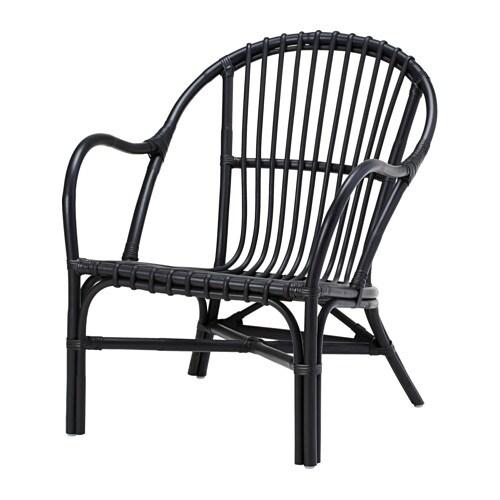 nipprig 2015 sessel schwarz ikea. Black Bedroom Furniture Sets. Home Design Ideas