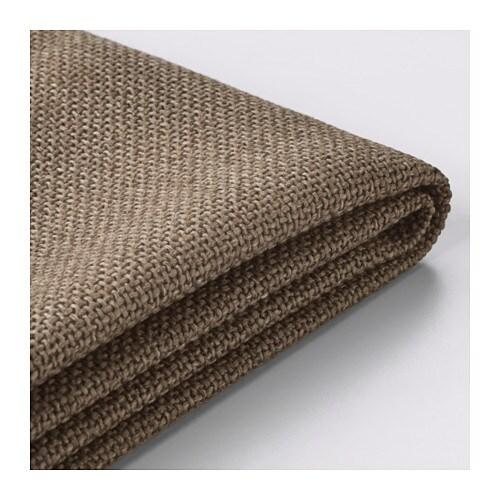 nockeby bezug 3er sofa ten braun ikea. Black Bedroom Furniture Sets. Home Design Ideas