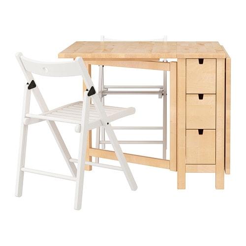 norden terje tisch und 2 st hle ikea. Black Bedroom Furniture Sets. Home Design Ideas