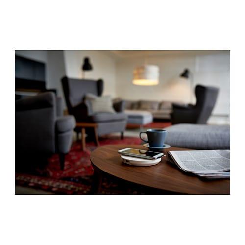 ikea nordm rke induktive ladestation kabelloses qi ladeger t wireless laden neu ebay. Black Bedroom Furniture Sets. Home Design Ideas