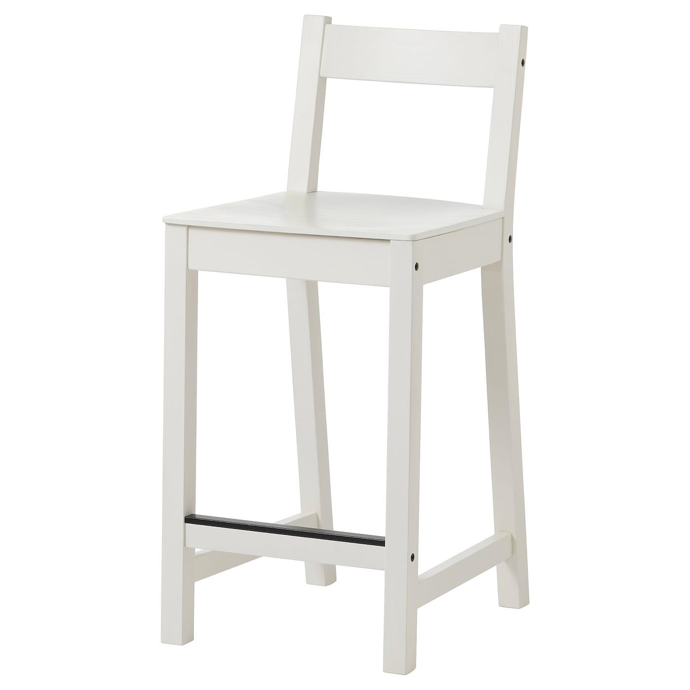 Nordviken Barhocker Weiss Heute Noch Kaufen Ikea Deutschland