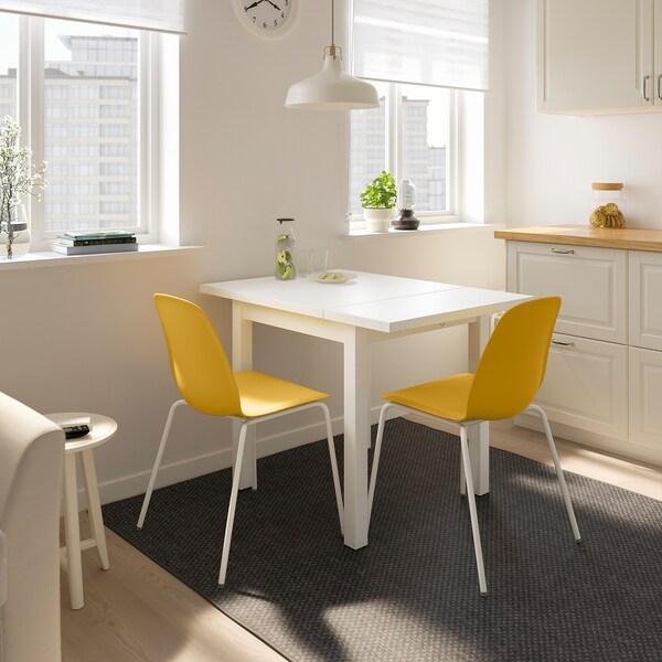 NORDVIKEN LEIFARNE Tisch Und 2 Stühle Weiß Broringe