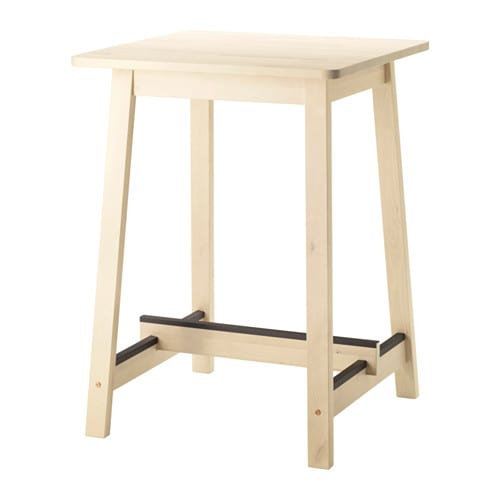Norr ker bartisch ikea for Table de fusion ikea