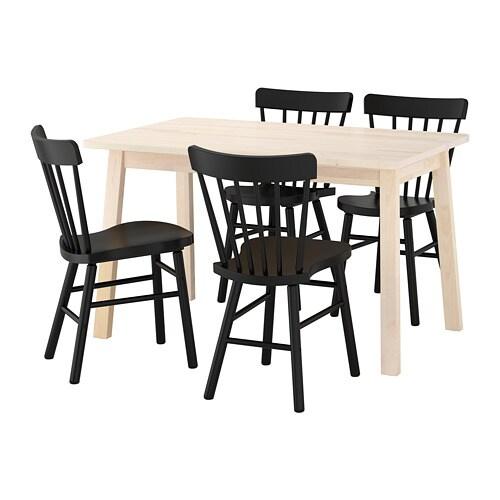 norr ker norraryd tisch und 4 st hle ikea. Black Bedroom Furniture Sets. Home Design Ideas