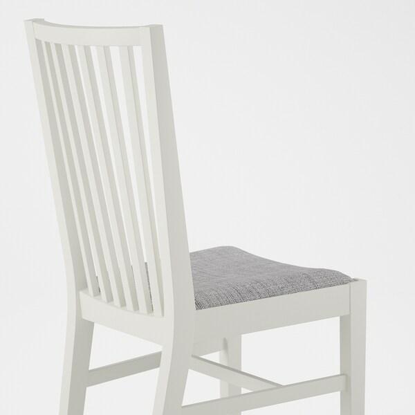 NORRNÄS Stuhl Weiß Isunda Grau IKEA Deutschland