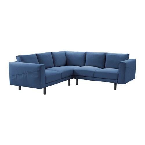 norsborg ecksofa 2 2 edum dunkelblau grau ikea. Black Bedroom Furniture Sets. Home Design Ideas