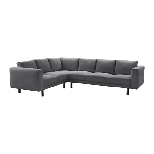 norsborg ecksofa 2 3 3 2 finnsta dunkelgrau grau ikea. Black Bedroom Furniture Sets. Home Design Ideas
