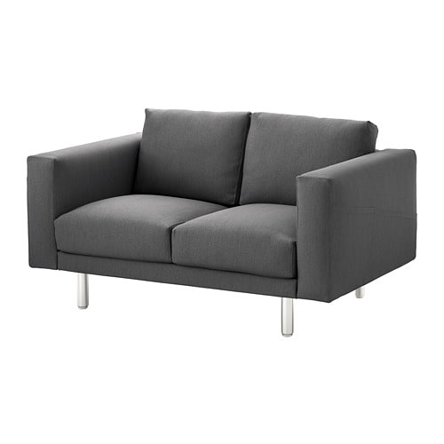 norsborg 2er sofa finnsta dunkelgrau metall ikea. Black Bedroom Furniture Sets. Home Design Ideas