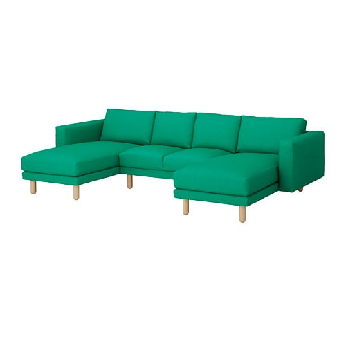 norsborg 4er sofa edum leuchtend gr n birke ikea. Black Bedroom Furniture Sets. Home Design Ideas
