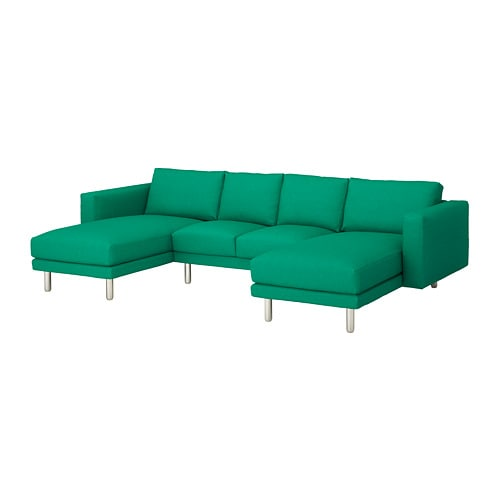 norsborg 4er sofa edum leuchtend gr n metall ikea. Black Bedroom Furniture Sets. Home Design Ideas