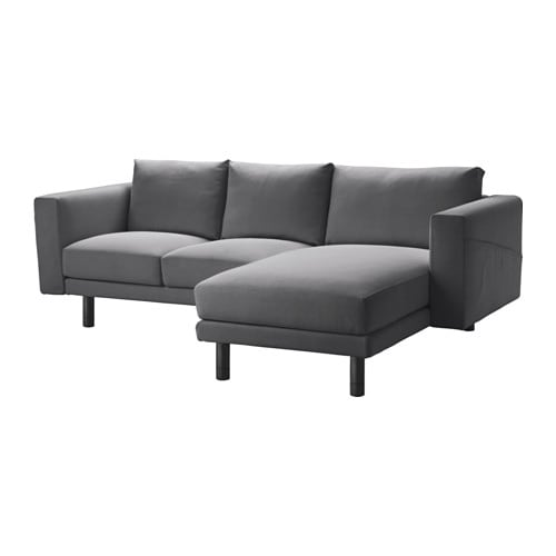 norsborg 2er sofa mit r camiere finnsta dunkelgrau grau ikea. Black Bedroom Furniture Sets. Home Design Ideas