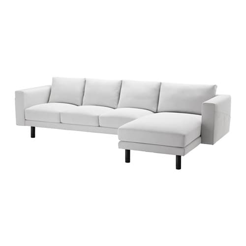 norsborg 3er sofa und r camiere finnsta wei grau ikea. Black Bedroom Furniture Sets. Home Design Ideas